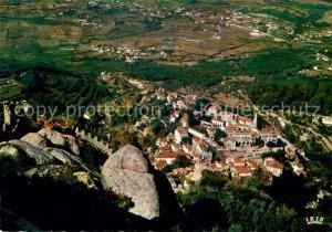 Sintra Castelo dos Mouros e vista parcial Sintra