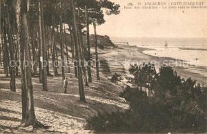 AK / Ansichtskarte Arcachon_Gironde Parc des Abatilles Arcachon Gironde