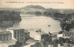 AK / Ansichtskarte Libourne Le Tertre de Fronsac et les Rives de la Dordogne Libourne