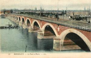 Bordeaux Le Pont de Pierre Bordeaux