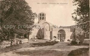 Arles_Bouches du Rhone Chapelle des Aliscamps Arles_Bouches du Rhone