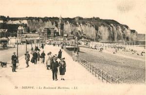 Dieppe_Seine Maritime Boulevard Maritime Dieppe Seine Maritime