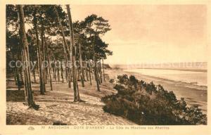 Arcachon_Gironde La Cote du Moulleau aux Abatilles Arcachon Gironde