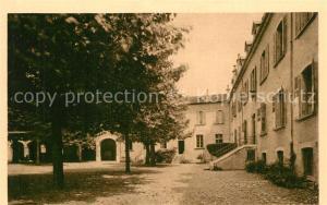 Voiron Pensionnat Sainte Marie Cour de recreation Voiron