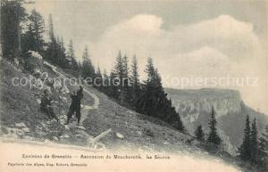 Grenoble Ascension du Moucherotte La Source Alpes Grenoble