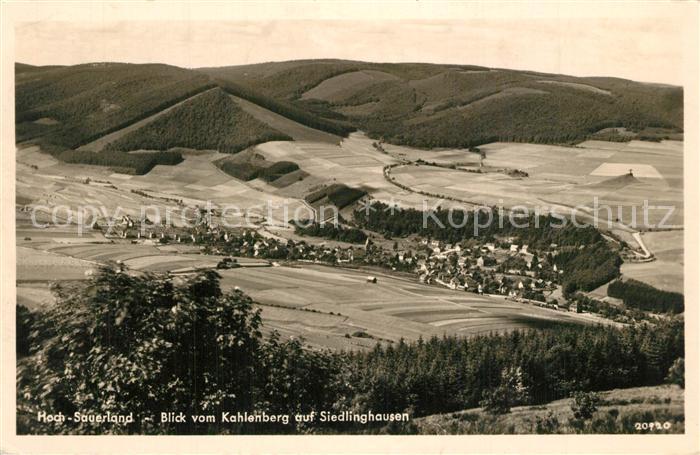 AK / Ansichtskarte Siedlinghausen Panorama  Siedlinghausen 0