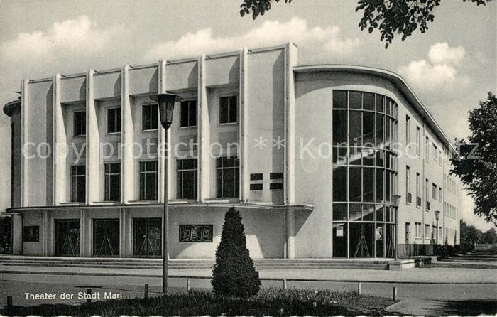AK / Ansichtskarte Marl_Westfalen Theater Marl_Westfalen 0