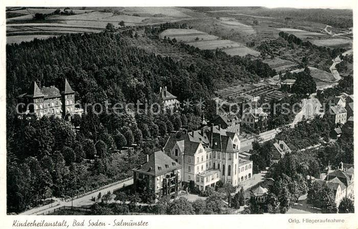 AK / Ansichtskarte Salmuenster_Bad_Soden Kinderheilanstalt Salmuenster_Bad_Soden 0