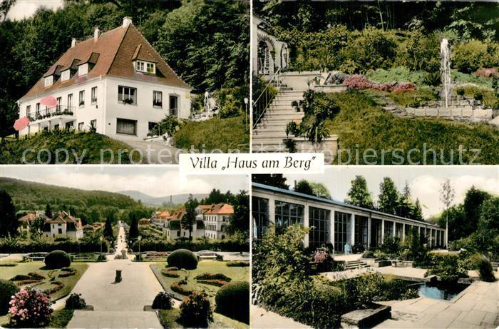 AK / Ansichtskarte Bad_Brueckenau Villa Haus am Berg Bad_Brueckenau 0