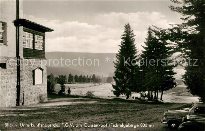 AK / Ansichtskarte Warmensteinach Unterkunftsaus FGV Ochsenkopf Warmensteinach 0