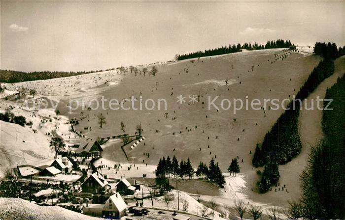 AK / Ansichtskarte St_Andreasberg_Harz Matthias Schmidt Berg Winterlandschaft St_Andreasberg_Harz 0