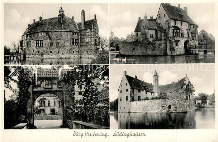 AK / Ansichtskarte Luedinghausen Burg Vischering Luedinghausen 0