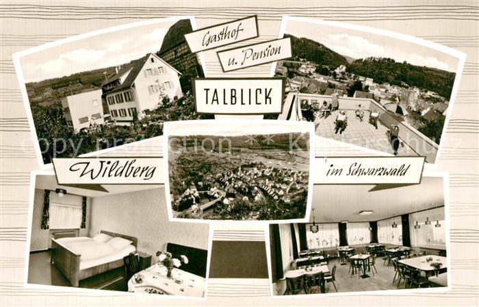 AK / Ansichtskarte Wildberg_Schwarzwald Gasthof Pension Talblick Wildberg Schwarzwald 0