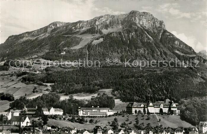 AK / Ansichtskarte Ingenbohl Institut Pensionat Theresianum Fronalpstock Ingenbohl 0