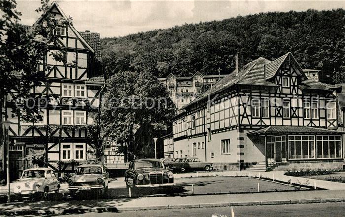 AK / Ansichtskarte Bad_Sooden Allendorf Kurhaus Hotel Bad_Sooden Allendorf 0