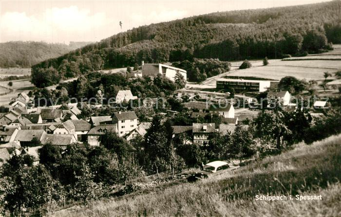 AK / Ansichtskarte Schippach_Miltenberg Panorama Schippach Miltenberg 0