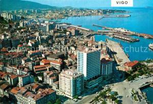 Vigo_Galicia_Espana Vista parcial aerea