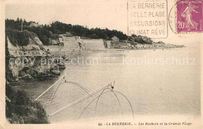 La_Bernerie en Retz Les Rochers et la grande plage La_Bernerie en Retz 0