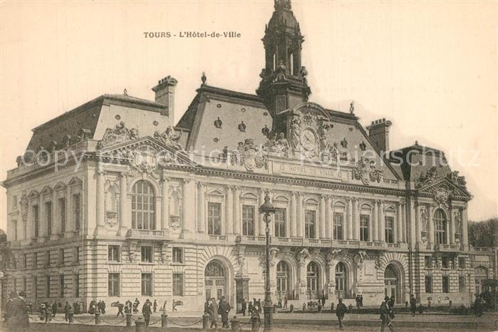 Tours_Indre et Loire Hotel de Ville Rathaus Tours Indre et Loire 0