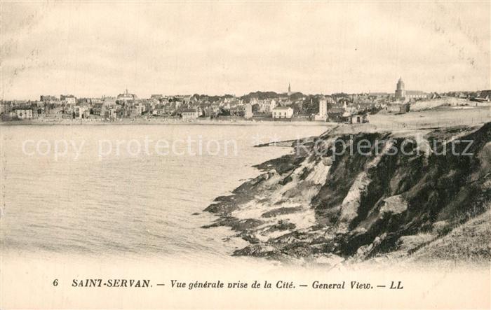Saint Servan_Ille et Vilaine Vue generale prise de la cite Saint Servan 0