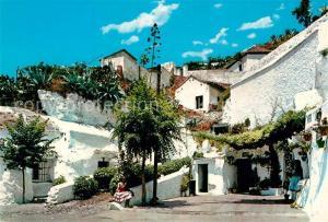 AK / Ansichtskarte Granada_Andalucia Sacromonte Granada Andalucia