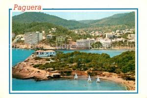 AK / Ansichtskarte Paguera_Mallorca_Islas_Baleares Panorama Paguera_Mallorca