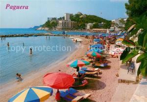 AK / Ansichtskarte Paguera_Mallorca_Islas_Baleares Detalle de sus playas Paguera_Mallorca