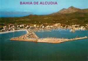 AK / Ansichtskarte Bahia_de_Alcudia Fliegeraufnahme Bahia_de_Alcudia