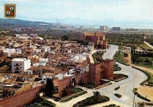 AK / Ansichtskarte Alcudia_Mallorca Murallas romanas al fondo il puerto vista Alcudia Mallorca