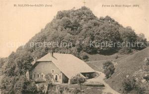 AK / Ansichtskarte Salins les Bains Ferme du Mont Poupet Salins les Bains