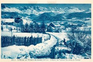 AK / Ansichtskarte Villard de Lans Adret les Pierres et les aretes du Gerbier l Hiver Villard de Lans