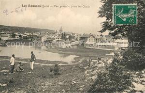 AK / Ansichtskarte Les_Rousses Vue generale prise des Glacis Les_Rousses