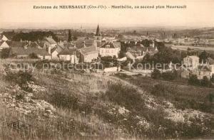 AK / Ansichtskarte Meursault Monthelie au second plan Meursault Meursault