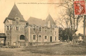 AK / Ansichtskarte Sainte Foy la Grande Chateau de Lenclos Sainte Foy la Grande