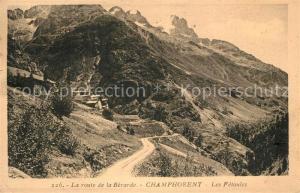 AK / Ansichtskarte Champhorent Route de la Berarde les Fetoules