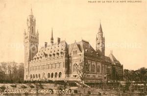 AK / Ansichtskarte La_Haye_Den_Haag Palais de la Paix La_Haye_Den_Haag