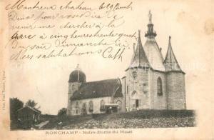 AK / Ansichtskarte Ronchamp_Haute_Saone Notre Dame du Haut Ronchamp_Haute_Saone