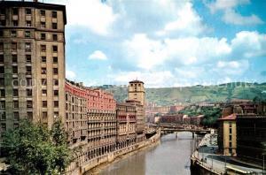 AK / Ansichtskarte Bilbao_Spanien Ria del Nervion Bilbao Spanien