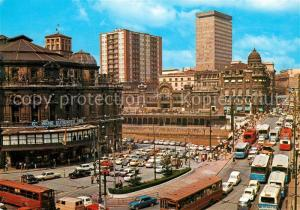 AK / Ansichtskarte Bilbao_Spanien Puente de la Victoria Plaza de Arriaga Bilbao Spanien
