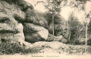 AK / Ansichtskarte Malesherbes Roche du Poirier Malesherbes