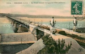AK / Ansichtskarte Briare Le Pont Canal Conguer Briare