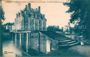 AK / Ansichtskarte La_Ferte Saint Aubin Le Chateau Les Fosses Ancien Pont levis La_Ferte Saint Aubin