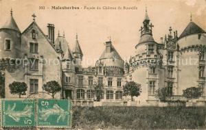 AK / Ansichtskarte Malesherbes Facade du Chateau de Rouville Malesherbes