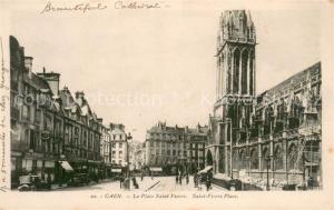 AK / Ansichtskarte Caen La Place Saint Pierre  Caen