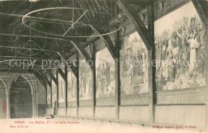 AK / Ansichtskarte Ypres_Ypern_West_Vlaanderen Les Halles IV La Salle Pauwels Ypres_Ypern