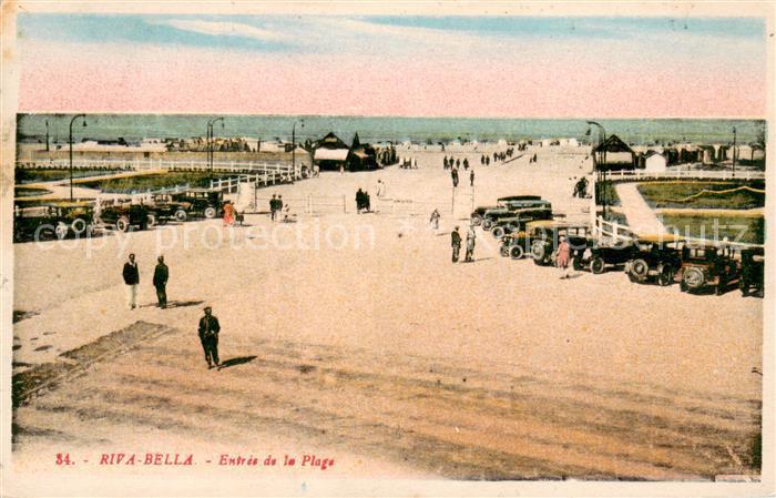 AK / Ansichtskarte Riva Bella Entree de la Plage Riva Bella 0