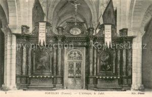 AK / Ansichtskarte Pontigny Abbaye le Jube Pontigny