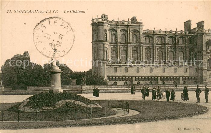 AK / Ansichtskarte Saint Germain en Laye Le Chateau Saint Germain en Laye 0