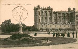 AK / Ansichtskarte Saint Germain en Laye Le Chateau Saint Germain en Laye