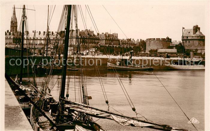 AK / Ansichtskarte Saint Malo_Ille et Vilaine_Bretagne Le Bassin a flot Saint Malo_Ille et Vilaine 0